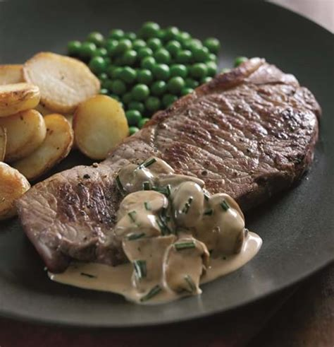 Steaks with Madeira and Mushroom Sauce | Recipe | Simply