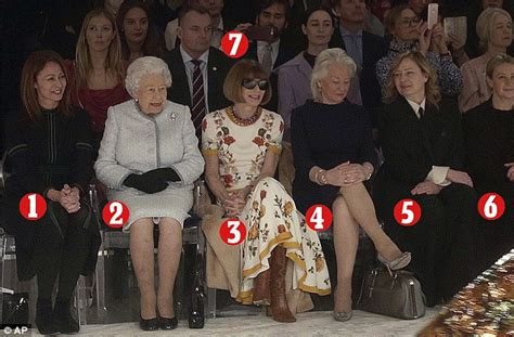 Who's who in the front row next to the Queen? | Daily Mail