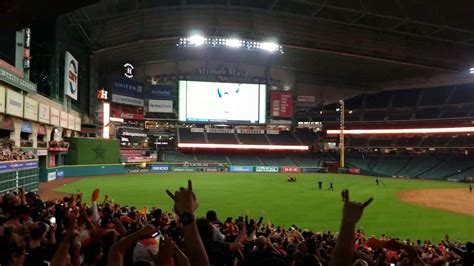 Houston Astros Clinch World Series - Minute Maid Park - AS