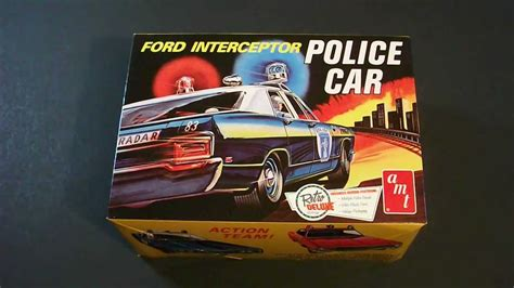 #79 - AMT Ford Interceptor Police Car Review - YouTube