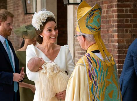Prince Louis' Christening: Photos, Videos and Details on