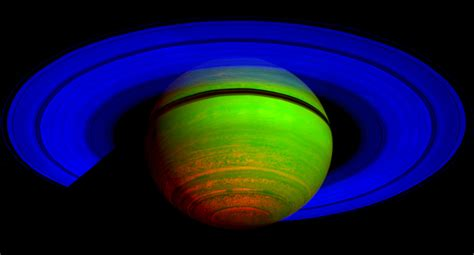 NASA - Cassini's CIRS Reveals Saturn Is on a Cosmic Dimmer