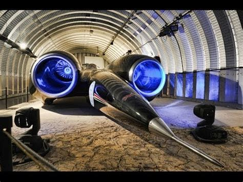 Fastest Car in The World Ever Made - Thrust SSC - YouTube