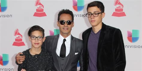 Marc Anthony talks about quality time with his kids
