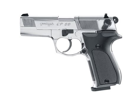 Walther CP88 Polished Chrome, Co2 PISTOLS UMAREX, AIRGUNS