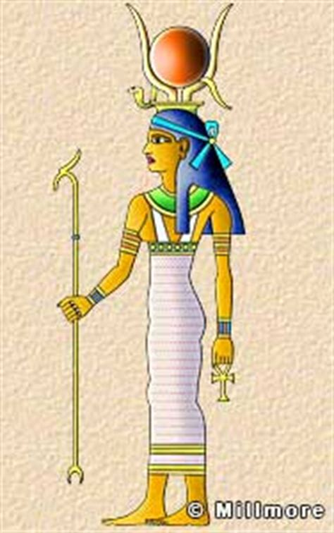 Ancient Egyptian Gods and Goddesses Illustrated