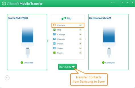 How to Transfer Contacts from Samsung to Sony Xperia