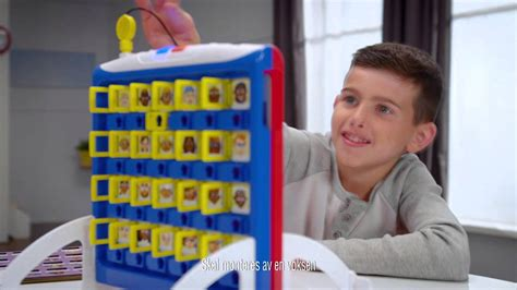 """Hasbro Gaming TVC Norge """"Guess Who extra"""" (item no"""