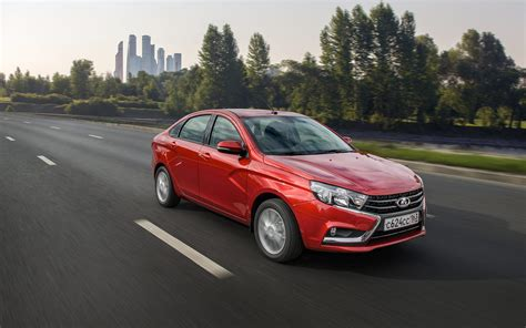 LADA Vesta sedan - Review - LADA official website