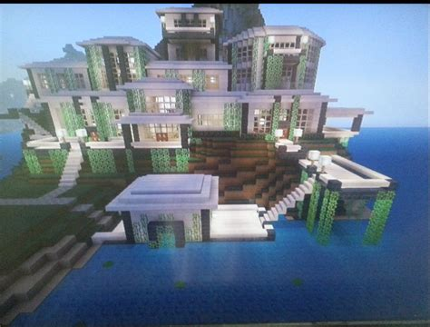 Modern Mansion With Boathouse - MCX360: Show Your Creation