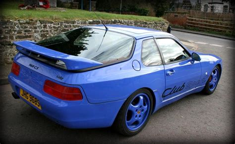 Maritime Blue Porsche 968 Club Sport Is A Performance