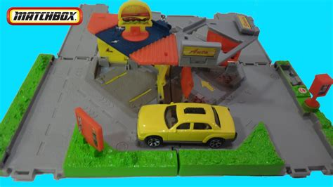 Matchbox City Links Taxi Workday Playset Toy Review