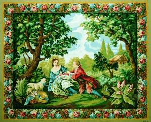 Royal Paris Tapestry/Needlepoint - Charms of Country Life