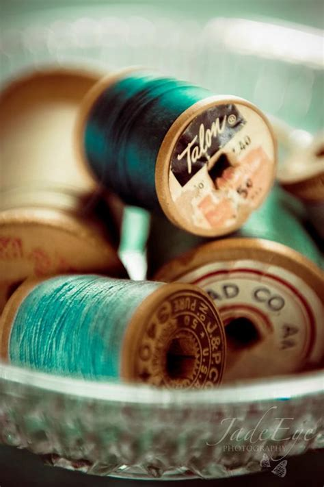 Items similar to Sewing Thread - still life photo, vintage
