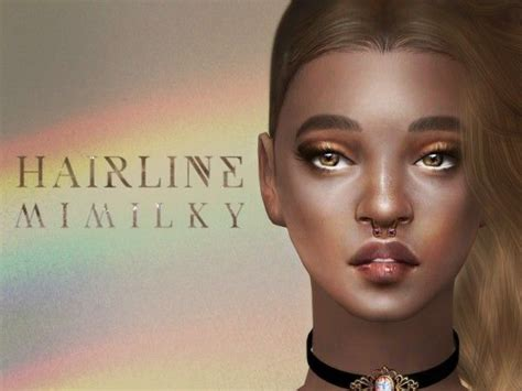 Mimilky baby: HQ Hairline • Sims 4 Downloads | Sims4girlroom