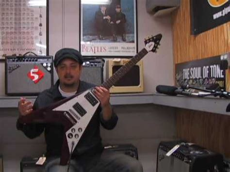 Randy Rhoads Gibson Flying V Guitar Review Dave Davies and