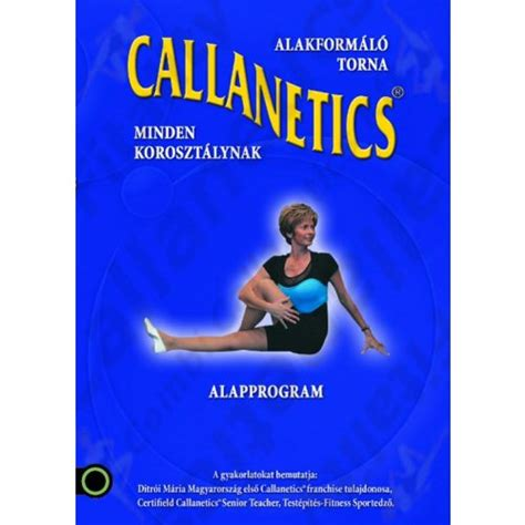 Callanetics Alapprogram DVD - Fitality-shop