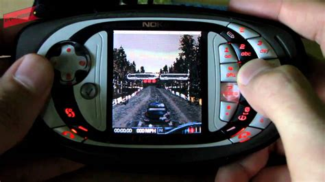 Nokia N-Gage Colin McRally 2005 - YouTube