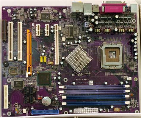 Intel 915 with BOTH AGP and PCI - Fall 2004 Motherboard