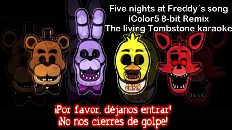 FNAF|Song 8-bit |The living tombstone iColor remix - YouTube